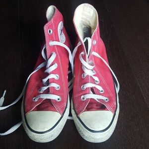 Red Converse All Star